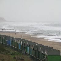 Southbourne beach winter storm, Кристчерч