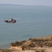 Coastguard Helicopter at Hengistbury Head 2007, Кристчерч