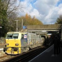 Incoming train @  Crawley Railway, Three Bridges station - East Grinstead, W.Sussex, U.K., Кроули
