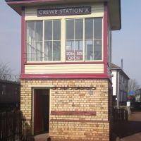 Crewe Signal box, Крю
