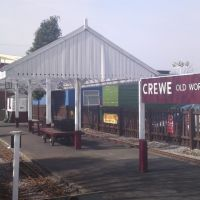 Crewe Heritage Miniture Railway Station, Крю