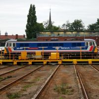 Electric Locomotive at Crewe Locomotive Works, Крю