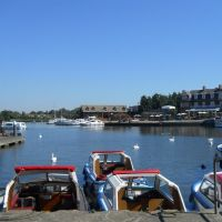 Boats on Oulton Broad, Лаустофт