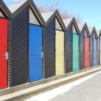 beach huts, Лаустофт
