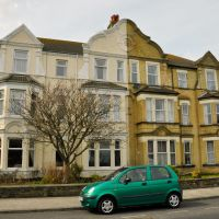 Double colour house in Lowestoft, Лаустофт