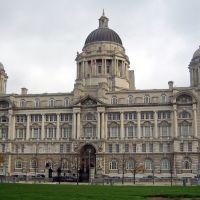 Liverpool, England. Port of Liverpool building., Ливерпуль