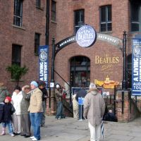 Liverpool, England. The Beatles Story., Ливерпуль
