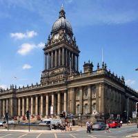 Leeds Town Hall, Лидс