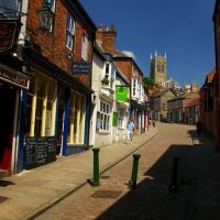 Steep Hill, Lincoln, Lincolnshire, England, Линкольн