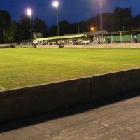 Leatherhead FC at night, Литерхед