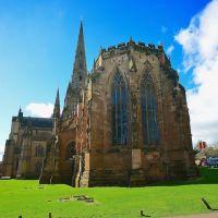 Lichfield Cathedral, Staffordshire, Личфилд