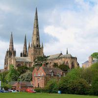 Lichfield Cathedral, Личфилд