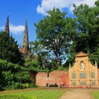 Memorial Garden, Lichfield, Личфилд