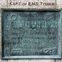 Commander Smith of The RMS Titanic - Plaque In Beacon Park, Lichfield., Личфилд