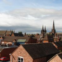 Lichfield panorama, Личфилд
