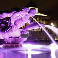 Dolphin, Mermaid, Triton: Trafalgar Square Fountain, Лондон