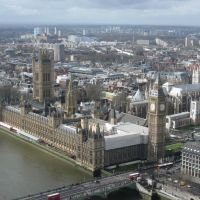 Palace of Westminster, Лондон