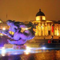 Trafalgar Square, Лондон