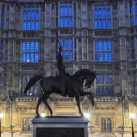 Richard the Lionheart Statue & Houses of Parliament; London * Olympist ©, Лондон