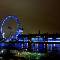 Večerná Temža / Evening Thames, Лондон