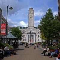 Luton Town Hall - near Lloyds TSB, Лутон