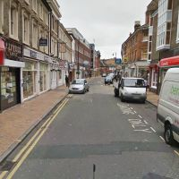 View along Queen Street near by Hamptons International Sales property for sale in  Maidenhead, Майденхед