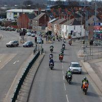 EASTER bikers CHarity ride MANSFIELD O=K, Мансфилд