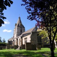 St Edmund King and Martyr is the church at Mansfield Woodhouse., Мансфилд