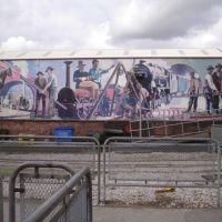 Railway mural, Манчестер