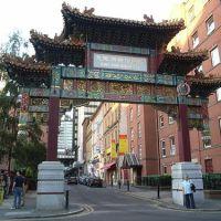 Manchester, China Town., Манчестер