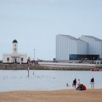 Turner Contemporary gallery & Margate Harbour, Маргейт