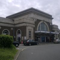Railway Station. Margate. Kent. UK, Маргейт