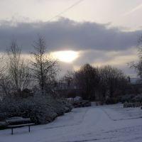 snowfall in morley, Морли
