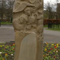 Animal Memorial, Sculptor Melanie Wilks, Морли