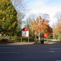 Entrance to Scatcherd Park, Morley, Морли