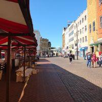 Northampton Town Market place., Нортгемптон