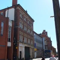 Northampton, building of note, College Street, Нортгемптон