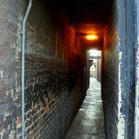 Sikátor..Alley,Town centre Northamptom,U.K., Нортгемптон