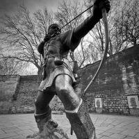 Pomnik Robin Hooda / Robin Hood memorial statue, Ноттингем