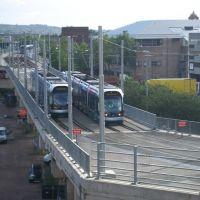 tram, Ноттингем
