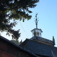 Towers & and the weathervane, Vicarage Street, Nuneaton., Нунитон