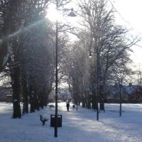 Abbey Green, Nuneaton (January 2010 Snowfall), Нунитон