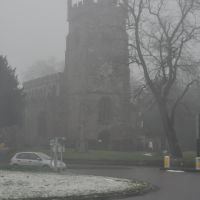 Nuneaton : St Nicholas Parish Church & Vicarage Street, Нунитон