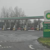 Nuneaton : BP Petrol Station, Нунитон