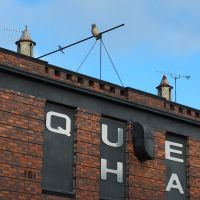 The Queens Hall building Roof line High Street, Nuneaton, Нунитон