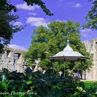 Newark Castle gardens, Ньюарк