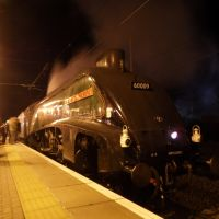 60009 Union of South Africa sits at newark northgate station, Ньюарк