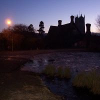 Priory Farm Pond & Church, Carisbrooke, Ньюпорт
