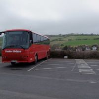 Coachparking at Carisbrooke Castle, Ньюпорт