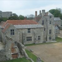 Usuable buildings in Carisbrooke castle, Ньюпорт